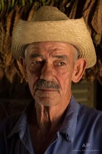 Lifestyle Portrait Photography - Cuban Tobacco Farmer